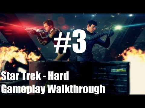 Star Trek - Gameplay Walkthrough - Hard - Part 3 - The Gorn