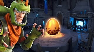 New DRAGON EGG found in Fortnite.. (HATCH EVENT?)
