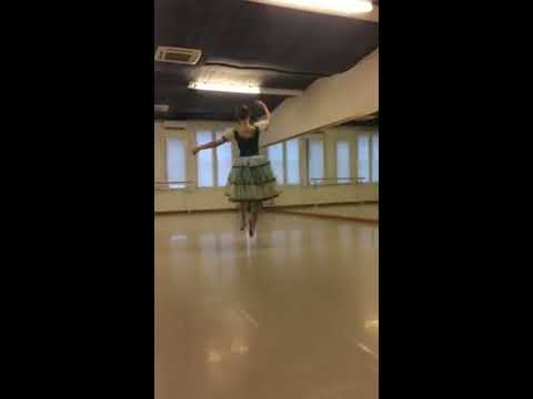 Audition Of Centro Studio Danza Var From La Fille Mal Gardee