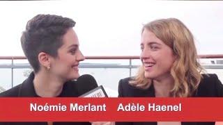 compilation of adèle haenel making fun of noémie merlant