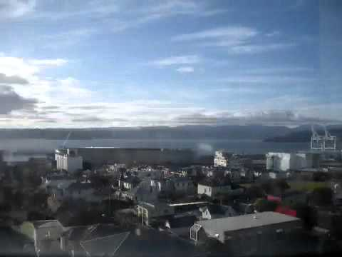 Time lapse from my office in Wellington