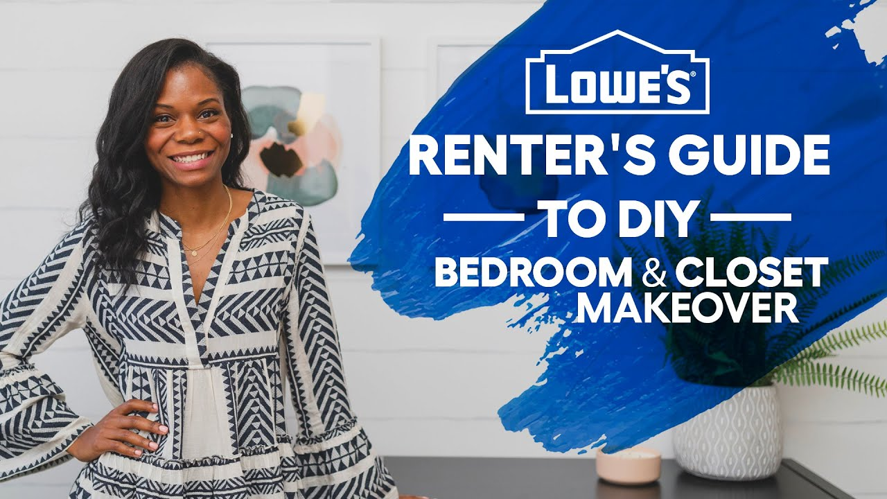 "Renter's Guide to DIY: ""Bedroom + Closet"" (Episode 1)"