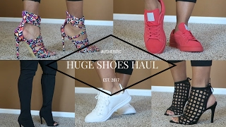 Huge Affordable Shoes Try On Haul 2017-- Starting @ $15 (Puma, Lola Shoetique, Forever 21 and More)