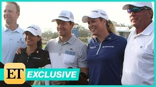 Mark Wahlberg Golfs for Charity! (Exclusive)