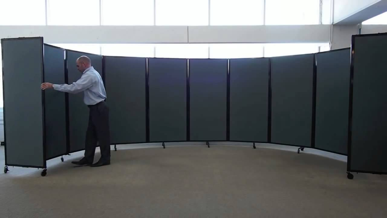 versare room divider 360 the ultimate portable partition wall youtube - Portable Room Dividers