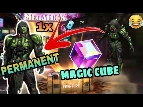 New Diamond Royal Permanent And Magic Cube 1X Free Fire Battleground.