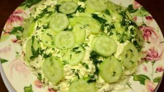 Рецепт салата из творога