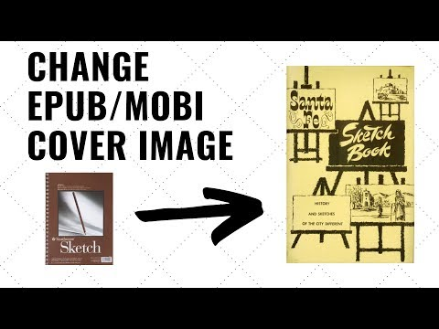 How To Change Cover Image Of An EPub Or Mobi File