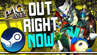 Persona 4 Golden Out RIGHT NOW on STEAM And it's SUPER CHEAP!
