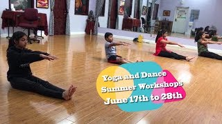 Yoga and Dance Summer Workshops 2019