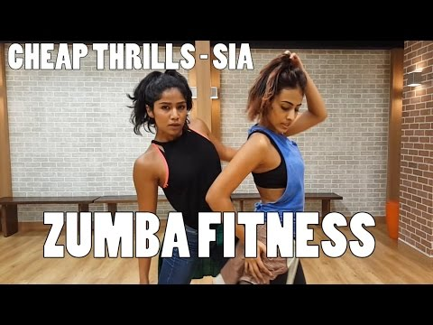 Cheap thrills by Sia|Zumba fitness| Padmavati Iyengar & Santoshi Shetty
