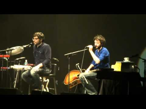 Flight Of The Conchords- Hiphopopotamus VS Rhymenoceros (Perth, 18/07/12)