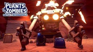 Mech Gargantuar Boss Fight! - Plants vs. Zombies: Battle for Neighborville - Gameplay Part 34