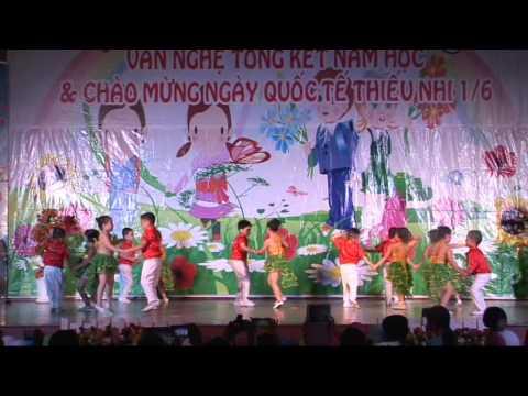 Dance - CHILLYCHACHA Lớp Lá - Trường Mầm Non Song Ngữ Tuổi Thơ - Quy Nhơn 2016