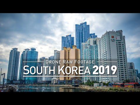【4K】Drone RAW Footage | SOUTH KOREA 2019 ..:: Seoul :: Busan :: Daejeon :: Gyeongju | UltraHD Video