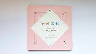 Unboxing Gwsn 공원소녀1st Mini Album The Park In The Night Pt 1