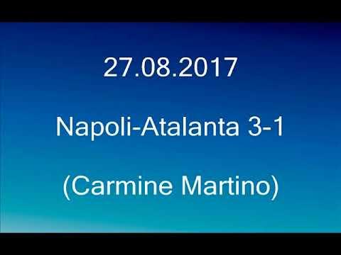 Napoli-Atalanta 3-1 (Carmine Martino) Radio