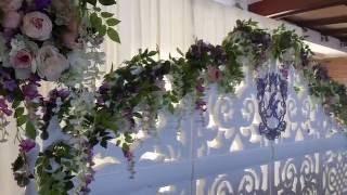 ажурная ширма в оформлении свадебного зала