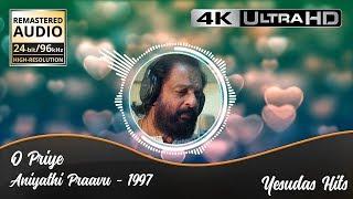 O Priye with Lyrics | Aniyathipraavu | Original High Quality Audio | 4K Video