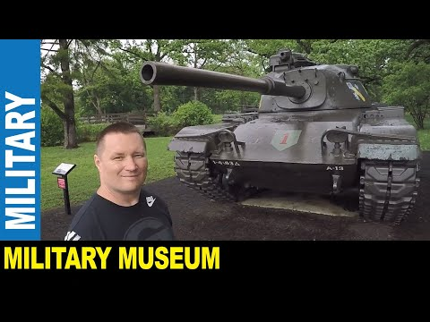 Military Museum First Infantry Division US Army Cantigny Tank Park | Jarek In Wheaton Illinois USA