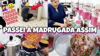AS VEZES DÁ TUDO ERRADO 🤦 COZINHANDO NA MADRUGADA, AMANHÃ TEM VISITA PARA O ALMOÇO