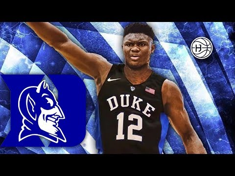 Zion Williamson Commits to DUKE !!!!! BEST HS DUNKER EVER?? FULL HIGHLIGHTS