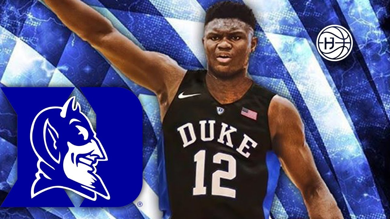 finest selection b1a64 031dc Zion Williamson Commits to DUKE !!!!! BEST HS DUNKER EVER?? FULL HIGHLIGHTS