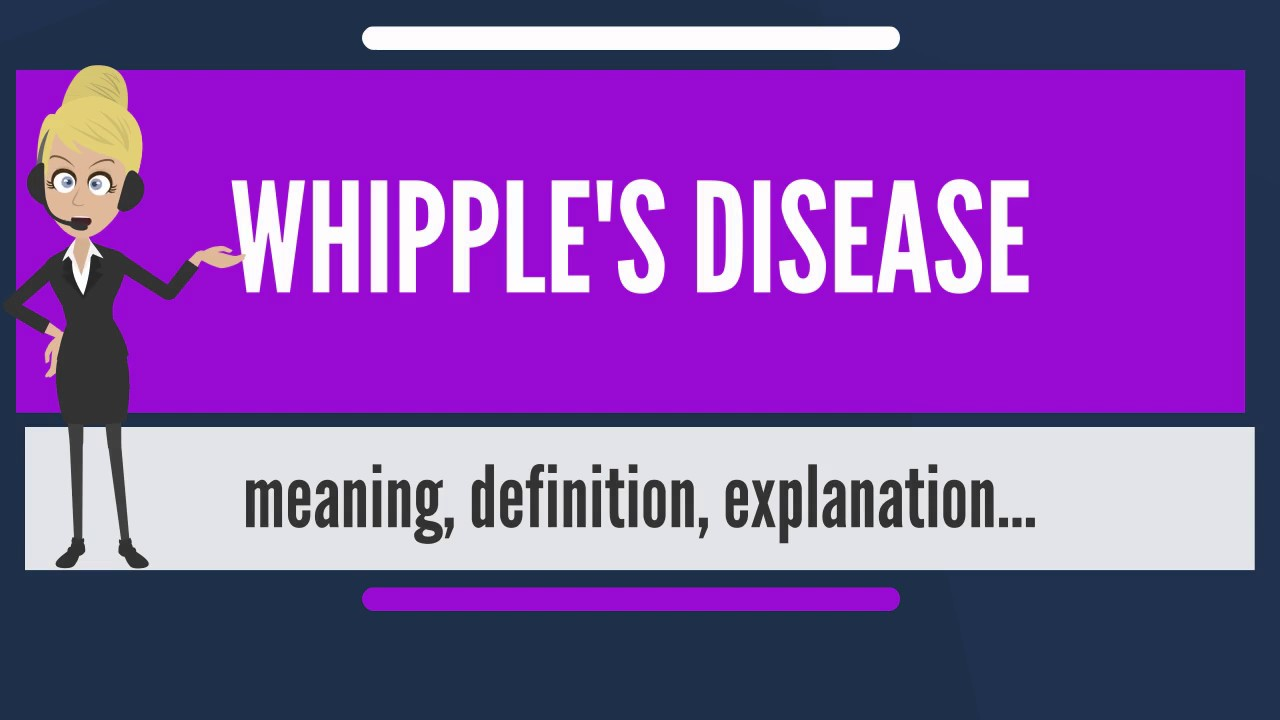 What Is Whipple's Disease foto