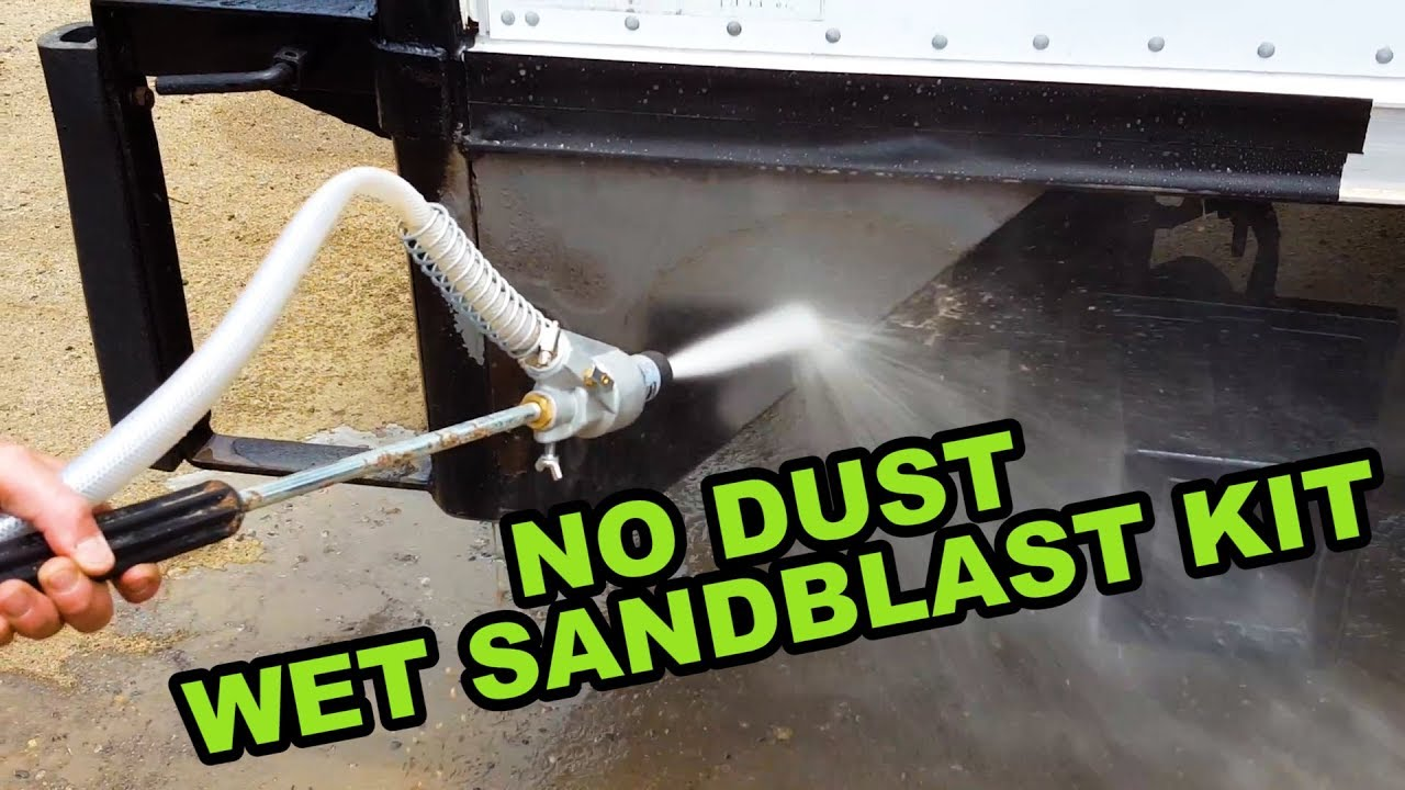 Wet Sandblasting Kit Reviews
