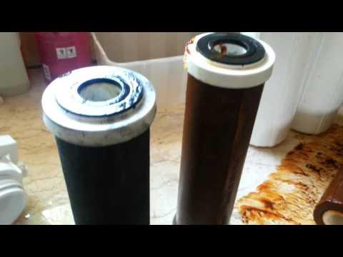 אוסמוזה הפוכה - החלפת פילטרים אחרי 10 חודשים - 1