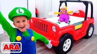فلاد وغرفة سيارته الجديدة