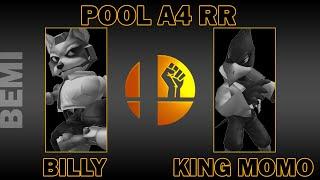 BillyBoPeep (Fox) Vs King Momo (Falco) | Pool A4 RR | BEMI