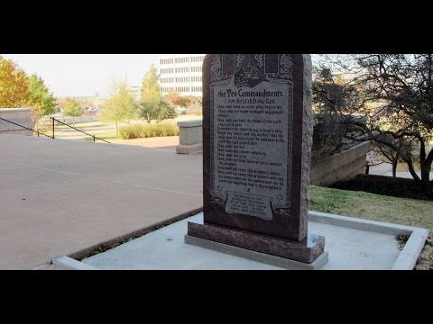 OK Supreme Court: 10 Commandments Must be Removed from State Capitol Property