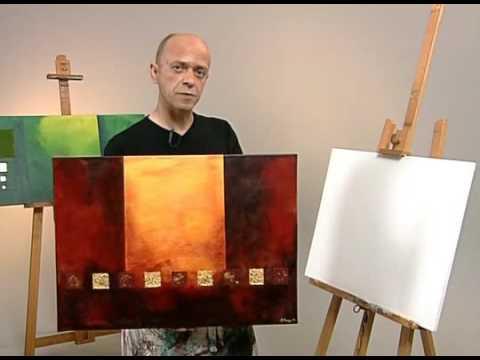 Neue Wege zum Acrylbild von Martin Thomas  Video zum Buch  YouTube