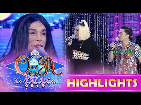 It's Showtime Miss Q & A: Vice and Jhong make fun of Miss Q & A candidate Mader Sitang Gan