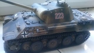 Стендовый моделизм Покраска танка Panther Ausf A от Tamiya/Paint tank Panther from Tamiya