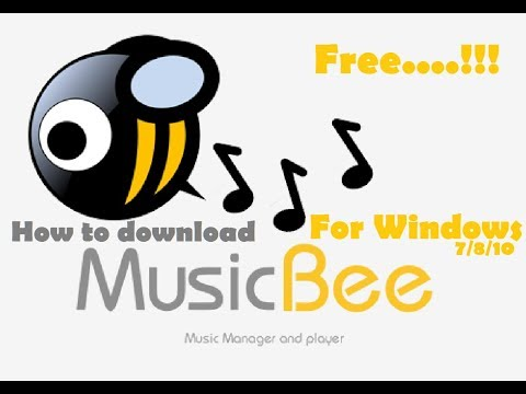 How to download MUSIC BEE for Windows 7/8/10 [ FREE....!!! ]