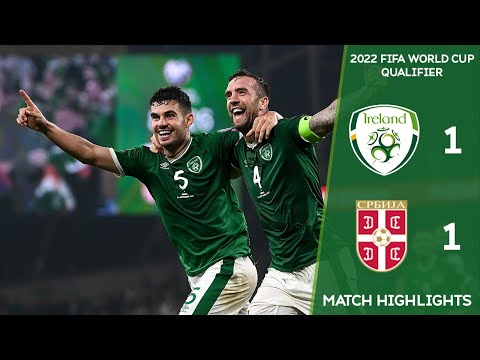 HIGHLIGHTS | Ireland 1-1 Serbia - 2022 FIFA World Cup Qualifier