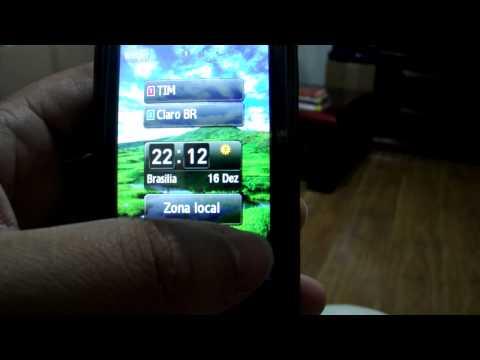 Defeito Samsung GT B7722