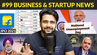 Business News #99 | National Unemployment Day,No education for 80% govt school students,PayTM,Amazon