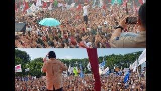 Perbandingan Kampanye Terbuka Jokowi dan Prabowo di Tegal
