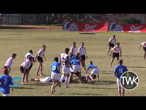 Junior School Rugby -  u/12 Free State Cheetahs vs Limpopo Blue Bulls 30-06-17