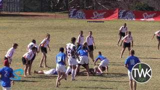 Junior School Rugby -  u/12 Free State Cheetahs vs Limpopo Blue Bulls 30-06-17