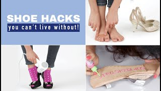 5 Shoe Hacks for Tight, Painful Or Slippery Shoes | Glamrs Style Hacks