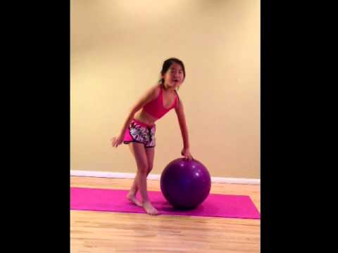 YaYa impromptu exercise/coaching Video 1