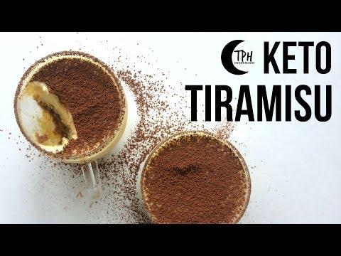 Keto Tiramisu | Low-Carb Tiramisu Recipe | Sugar-Free Mascarpone Espresso Dessert