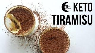 Keto Tiramisu  Low-Carb Tiramisu Recipe  Sugar-Free Mascarpone Espresso Dessert