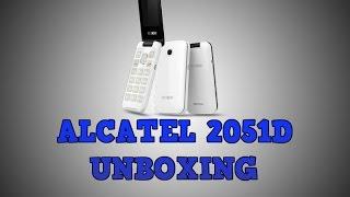 ALCATEL 2051D UNBOXING HANDS ON 4K HD VIDEO [2016]