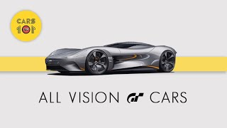 All Vision GT Cars | Vision Gran Turismo | Cars 101