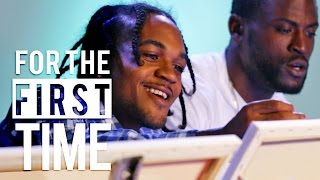 Thugs Sip & Paint 'For the First Time'
